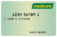 Example Medicare card